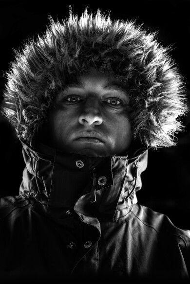 Me looking threatening  #portrait #monochrome #blackandwhite #studiolighting #headshot #selfie