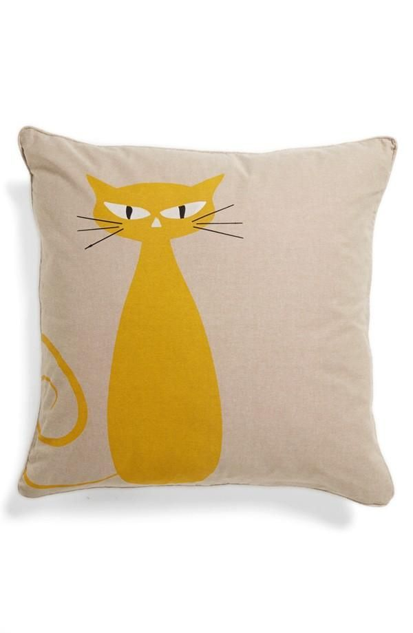 Meow: Standing cat pillow
