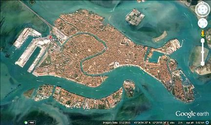 Image result for aerial image venice