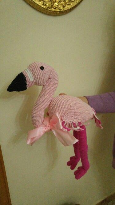 Amigurumi Flamingo!