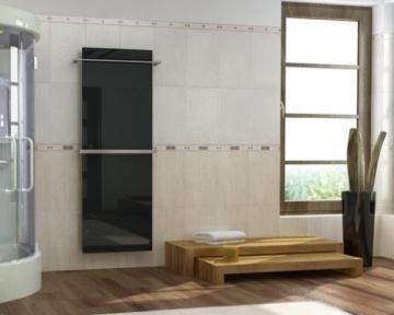 The bath towel warmer by InfraSWISS