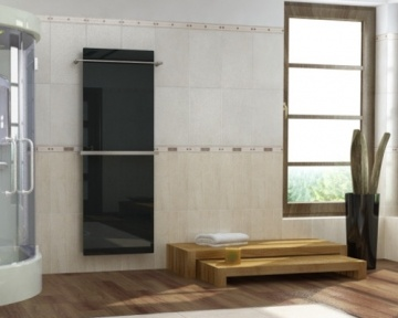 The bath towel warmer by InfraSWISS