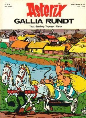 """""""Asterix - Gallia rundt"""" av René Goscinny"""