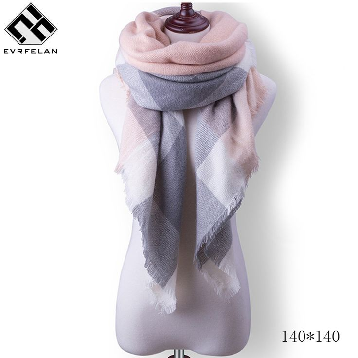 Aliexpress.com : Buy 140*140cm Fashion Winter Scarf For Women Scarves Wrap Luxury Brand Scarf Warm Cashmere Pashmina Shawl And Neckerchief Long Shawl from Reliable scarf for women suppliers on YY store