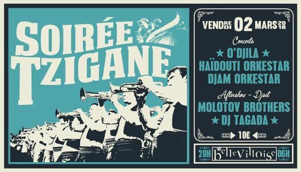 Soiree Tzigane  Fiesta Que Calor (Paris) du 02/03/18 au 03/03/18 https://weekmee.com/soiree-tzigane-fiesta-que-calor-paris #Paris #Rock #Danse #HipHop #Violon #Trompette #IbrahimMaalouf #Contrebasse #Chant #Argentine #Magie #Trombone #Cumbia #Clubbing