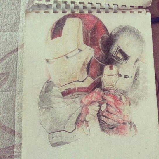 #Ironman #evolution #marvel #colors