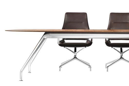 #Mesa de #trabajo Graph de #Wilkhahn. #Diseño de jehs+laub