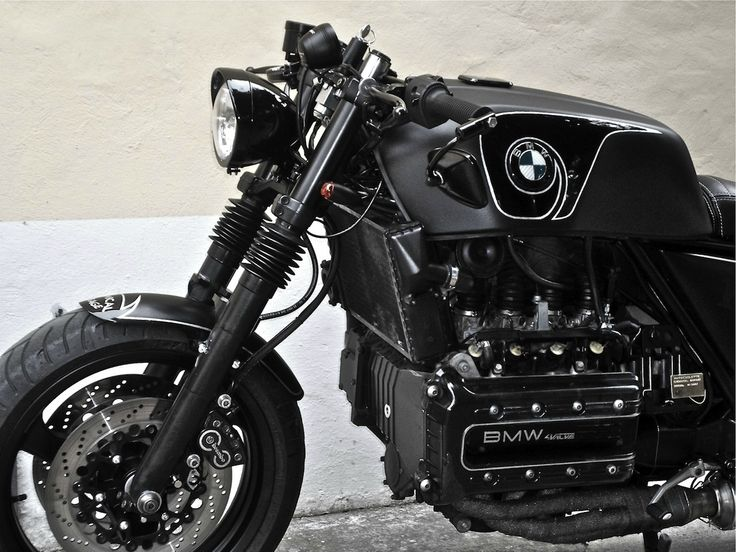 theclassyissue:  BMW K100 (Chemical Garage)