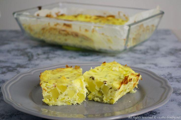Lo sformato di patate e porri è un antipastofacile da preparare con il tuo…