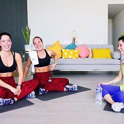 Nutre tu cuerpo, mente y espíritu con el Proyecto Anual *PLUS* . Acceso semanal a material inédito:  Entrenamientos (Pilates, HIIT, Yoga, Ballet, Salsa, etc)  Recetas y VideoRecetas  Entrevistas a creativos, emprendedores e influenciadores.  Meditaciones guiadas & más.    Inscríbete AQUÍ.   Si ustedes creen que los SisyFusión son pesados....  esperen a entrar con Karen