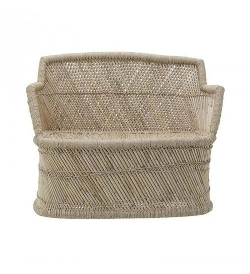 RIVER GRASS ARMCHAIR IN NATURAL COLOR 105X50X85