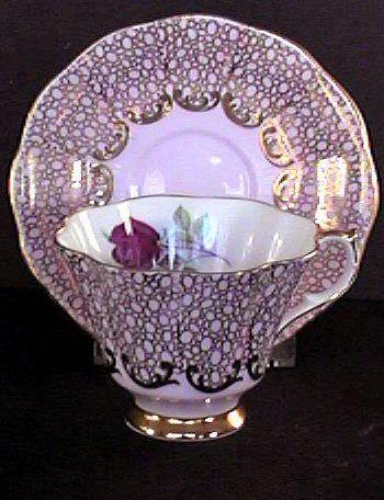 Vintage Tea Cups - Tea Pots- Tea Sets c1955 Queen Anne Teacup Antiques & Collectibles