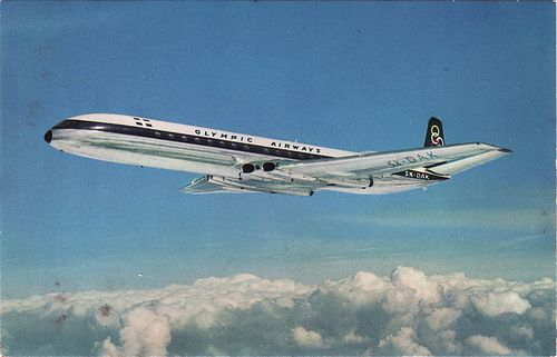 Olympic Airways De Havilland Comet 4B - n.d.