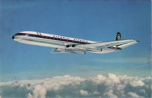 Olympic Airways De Havilland Comet 4B - n.d.