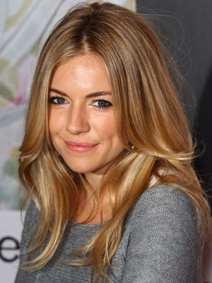 Sienna Miller at the launch of Twenty8Twelve Spring/Summer 2011 collection in London.      Read more: Blonde Celebrity Hairstyles - Celebrities with Blonde Hair Ideas - Real Beauty