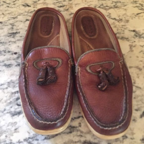 SPRING CLEANING SALE Sperry slip ons GUC- sperry slip on deck shoes Sperry Top-Sider Shoes