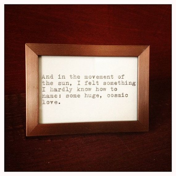 Haruki Murakami Typewriter Quote by farmnflea on Etsy, $12.00