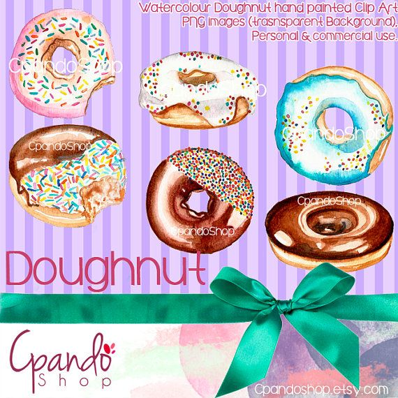 Doughnut PNG  images with transparent background HD by CpandoShop