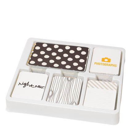 The fun and simple #ProjectLife Midnight Core Kit.