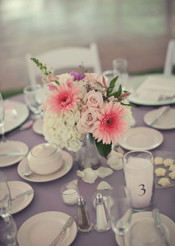 A beautiful #wedding tablescape at the Carriage House Restaurant.