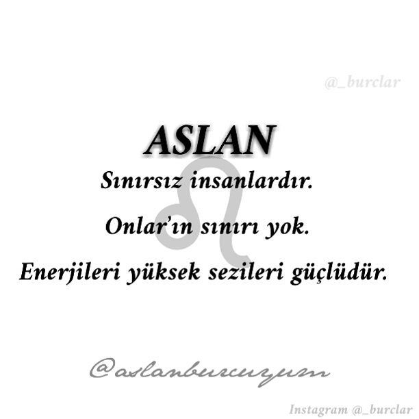 ♌@aslanburcuyum♌ #burçlar #burc #burç #burclar #aslan #aslanburcu #burcler #aslanburcukadını  #aslanerkeği #aslanburcuyum #aslanburcuyuz #yozgat #kilis #hatay #karaman #maraş #kutahya #turkey #kpss #gol