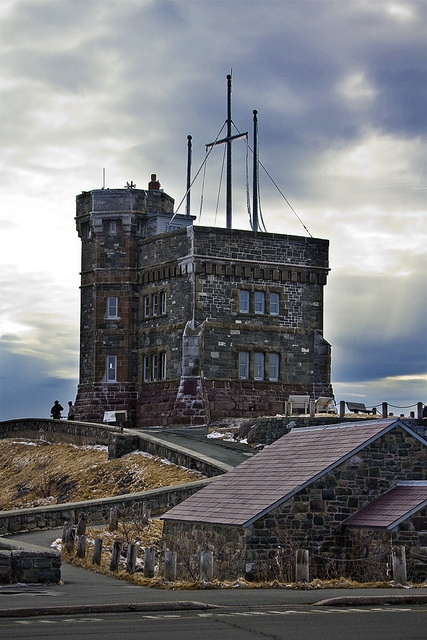 Cabot Tower, St. John's, Newfoundland | by SIDwilliams, via Flickr http://en.wikipedia.org/wiki/Cabot_Tower_(St._John's)