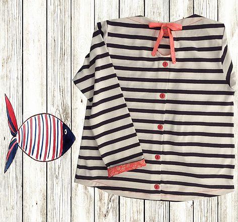 Sur Meuse...ure by Marie-SO ! / Création de vêtements pour enfants. | Marinières