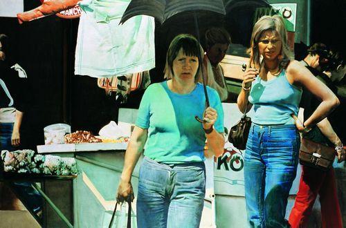Csernus Tibor: Lányok, farmernadrágban (1971)