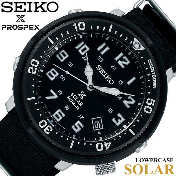 【楽天市場】≪10月27日発売≫SEIKO セイコー PROSPEX プロスペックス フィールドマスター LOWERCASE ソーラー ダイバーズ 腕時計 メンズ SBDJ027:CAMERON