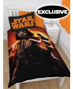 Star Wars Darth Vader Rise Single Duvet Cover - Exclusive Design!