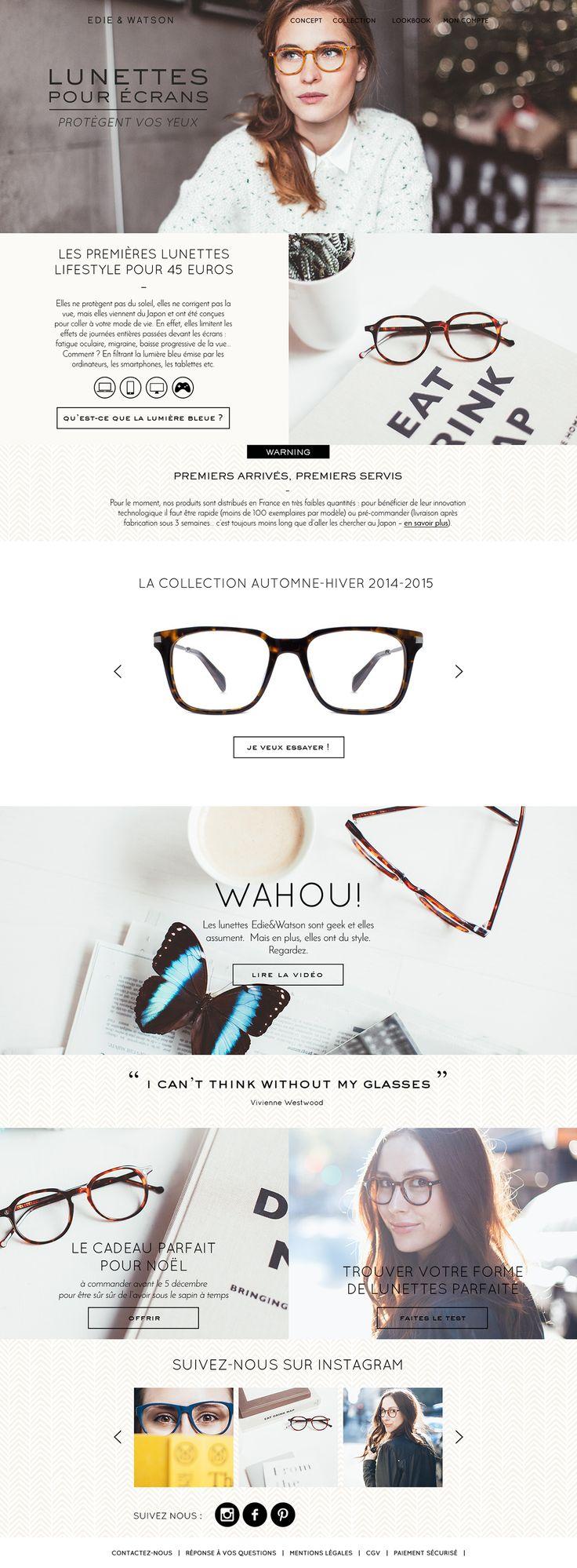EDIE & WATSON - Brand Identity, Web Design, Packaging. on Behance
