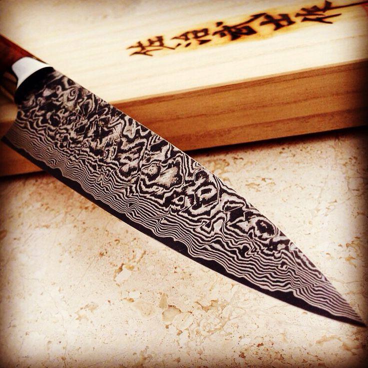 Takeshi Saji in clad steel  coltelli, coltello, knives, messer, steel, kitchen knives, coltello cucina
