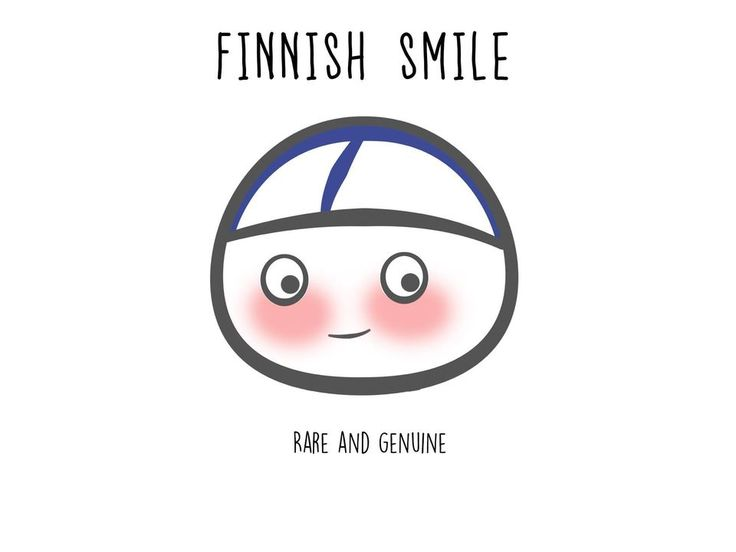 Finnish / I, for one, laugh and smile all the time :)