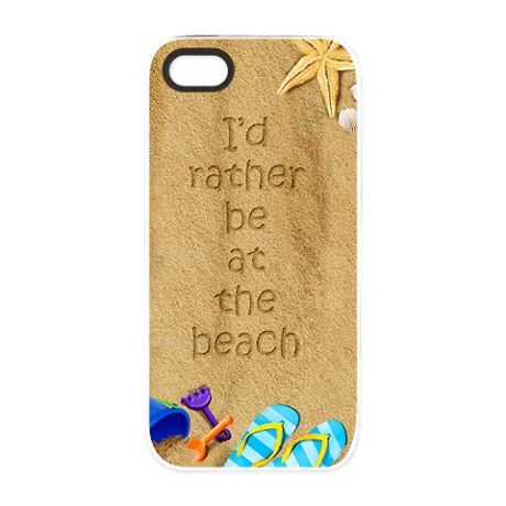 Rather be at Beach iPhone 5 Tough Case
