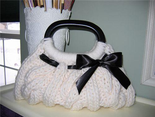 the_christine_bag by knittingnonstop, via Flickr
