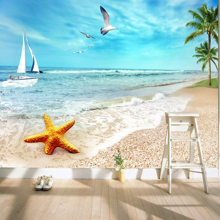 Cheap Beach Wallpapers, Buy Quality Wallpaper Ocean Directly From China  Photo Wallpaper Suppliers: Charming Sunny Beach Wallpaper Ocean Wall Murals  Custom ... Part 31