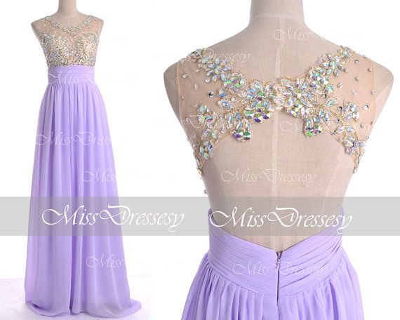 Lilac prom dresses 2014 lilac lace prom gown straps with for White and lilac wedding dress