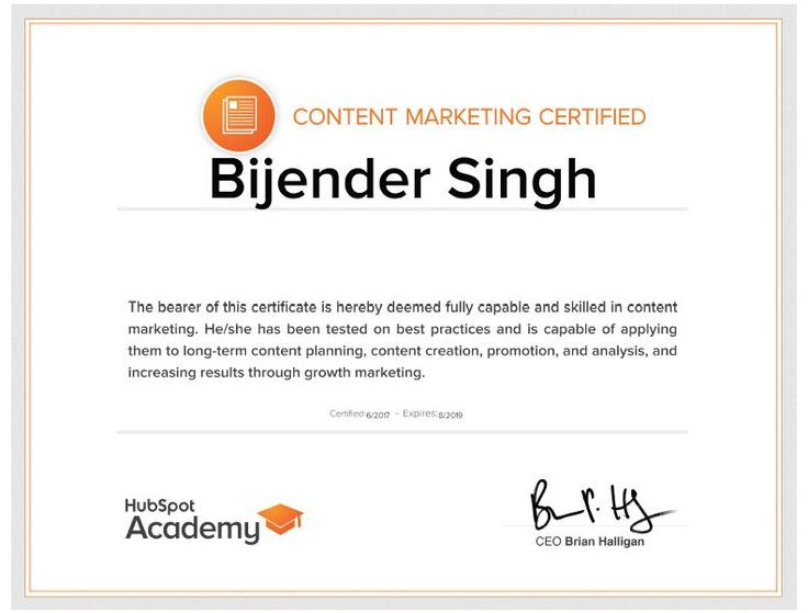 #contentmarketing #content #seo #sem #hubspot #digitalmarketing #certified #certification #bijenderdigital