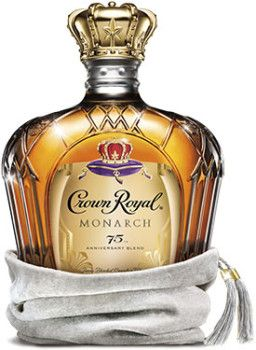 Crown Royal Monarch 75th Anniversary Whisky