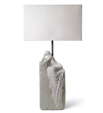 MEDITATING WOMAN LAMP II (CE)