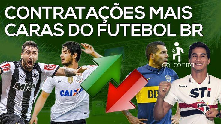 AS 10 CONTRATAÇÕES MAIS CARAS DO FUTEBOL BR #07