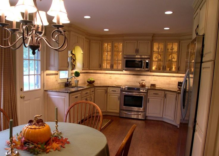 25 best kitchens before and after images on pinterest for Updated kitchen remodels