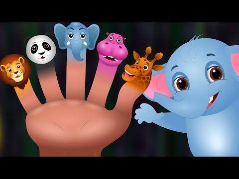 Finger Family Nursery Rhymes   Animal Finger Family Songs Collection   Learn Wild Animals   ChuChuTV - YouTube