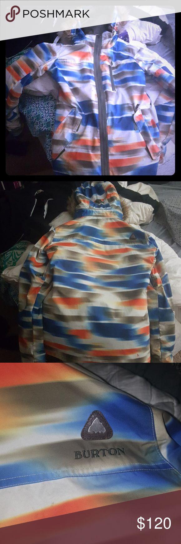 Burton ski jacket Burton ski jacket medium Burton Jackets & Coats Puffers