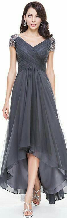 ~Dress~ ~High Low~ ~Gray~