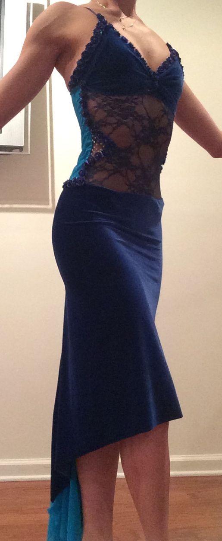 vestido renda + acetinado