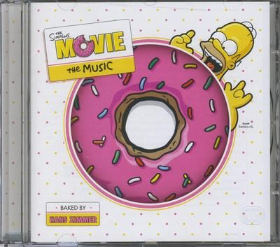 Simpsons - Simpsons the movie (CD)