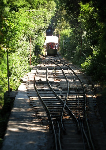 The Funicular, Cerro San Cristobal, Santiago, Chile