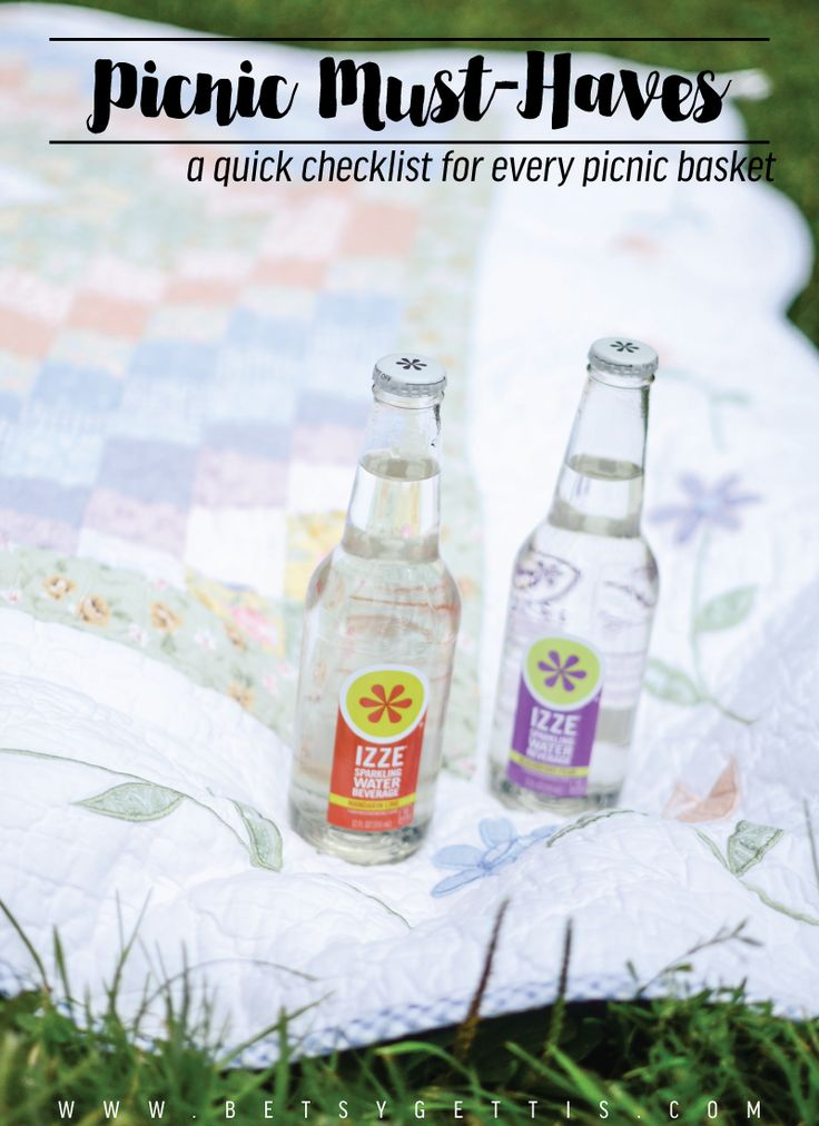 Heavens to Betsy: Picnic Must-Haves #TryIZZE #SparkleBrightly #ad
