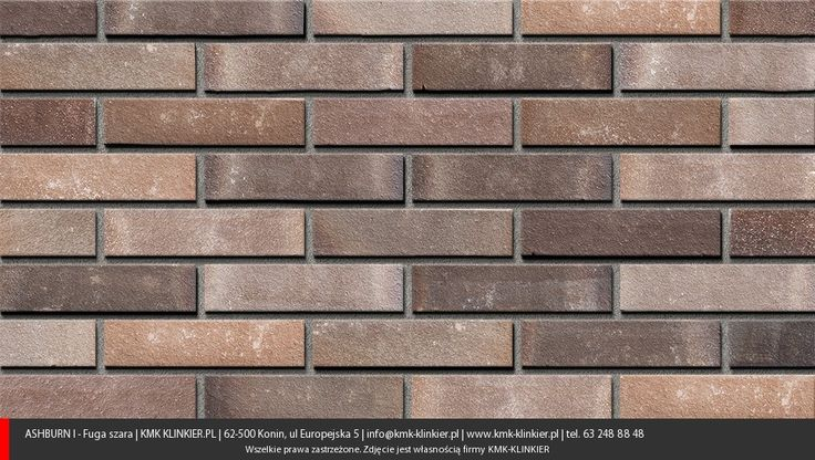Chicago Brown - Cegły klinkierowe